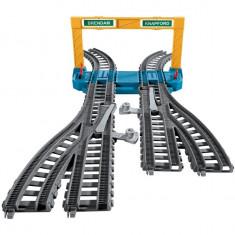 Extensie Circuit Sine Duble cu Macaz Thomas&Friends Track Master - Trenulet