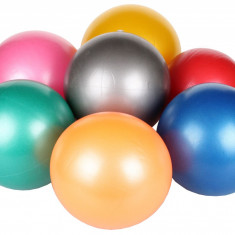 Overball Gym rosu 25 cm - Minge Fitness Merco, Minge gimnastica