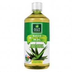 Suc organic de Aloe Vera Benessere, 1000 ml - Energizante