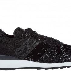 Sneakers Hogan - Adidasi dama Hogan, Culoare: Negru, Marime: 35, 36, 36.5, 37, 37.5, 38, 39