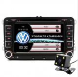 Navigatie multimedia auto Volkswagen / Skoda / Seat cu camera marsalier + camera