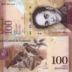 VENEZUELA 100 bolivares 2015 UNC!!!