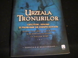 URZEALA TRONURILOR-GHICITORI, ENIGME SI PROB. DE PERSPIC- TIM DEDOPULOS-, Alta editura