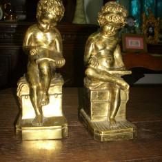 Doua statuete bronz - Metal/Fonta