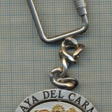 K 197 BRELOC PENTRU COLECTIONARI - PLAYA DEL CARMEN - MEXICO- REGIUNE TURISTICA - Metal/Fonta