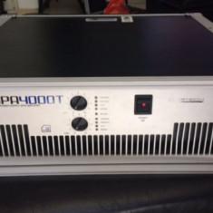 Amplificator profesional Ecler DPA 4000T cu procesor AMIC incorporat - Echipament DJ