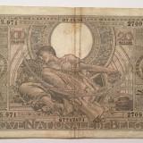 Belgia 100 Francs Franci - 20 Belgas 1936 U