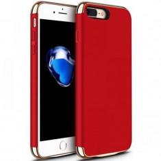Husa cu Acumulator Ultraslim iPhone 7 Plus, iUni Joyroom Power Case 3500mAh, Rosu