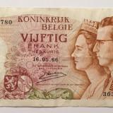 Belgia 50 Franci 1966 F
