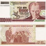 TURCIA 100.000 lire 1970 UNC!!!