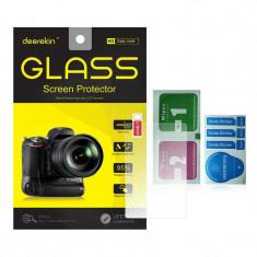 Folie sticla ecran protectie Tempered Glass pt Sony Alpha A5000 A6000 A6300 - Accesoriu Protectie Foto