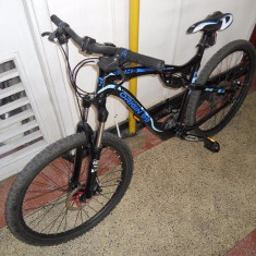 Bicicleta DHS Full Suspension 26' - Mountain Bike DHS, Numar viteze: 24