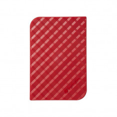 Hard disk extern Verbatim Store n Go GEN 2 1TB 2.5 inch USB 3.0 Red - HDD extern Verbatim, 1-1.9 TB, Rotatii: 5400