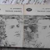 Literatura Populara Vol.1-2 - Mihai Eminescu, 406332 - Carte poezie