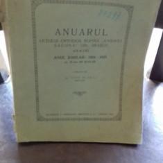 ANUARUL LICEULUI ORTODOX ROMAN ANDREI SAGUNA DIN BRASOV - IOSIF BLAGA