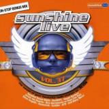 Artisti Diversi - Sunshine Live 37 ( 3 CD ) - Muzica Dance