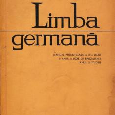 Limba germană clasa a XI-a, didactica si pedagogica