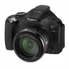 Canon PowerShot SX30 IS Negru - 14 MPx, zoom optic 35x, LCD rabatabil SH - Aparate foto compacte