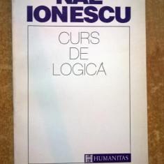 Nae Ionescu - Curs de logica - Filosofie