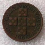 P2. Portugalia 20 centavos 1965 **, Europa