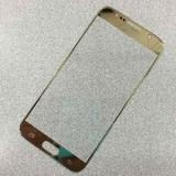 Ecran Geam Sticla Samsung Galaxy Note 5 auriu ecran nou original - Geam carcasa