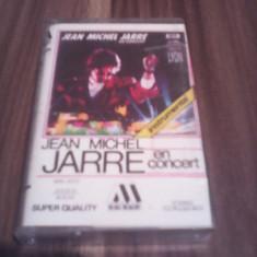 CASETA AUDIO JEAN MICHEL JARRE EN CONCERT  ORIGINALA MAG MAGIC RARA!!!!, Casete audio