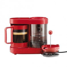 Cafetiera Bodum French Press Bistro 480W Red - Infuzor ceai