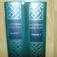 DICTIONAR MEDICAL -DR.P.SIMICI (VOL I-II) ANUL 1969