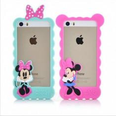 Husa Bumper Iphone 5 5s SE Mickey / Minnie Mouse Husa iphone 5 5s se Bumper - Bumper Telefon Apple
