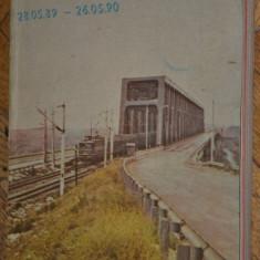 CFR - Mersul trenurilor de calatori 1989 - 1990