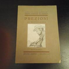 Preziosi par Al. Busuioceanu - Collect. Apollo, Marvan Buc,1935, 18 p, 33 reprod