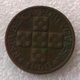 P2. Portugalia 20 centavos 1968 **, Europa