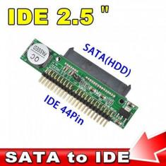 Adaptor sata to ide sata la ide 2.5 HDD SATA TO IDE HDD 2.5 DVD CD ADAPTOR - Cablu PC