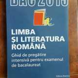 LIMBA SI LITERATURA ROMANA GHID DE PREGATIRE INTENSIVA EXAMEN BACALAUREAT