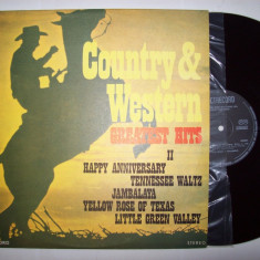 Disc vinil COUNTRY & WESTERN - Greatest hits II (ST - EDE 01838) - Muzica Country electrecord