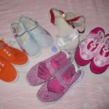 Lot incaltaminte vara - primavara - OKAZIE - Pantofi copii, Culoare: Multicolor, Marime: 33, Fete, Textil