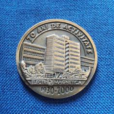 Medalie Romania Electromagnetica - telecomunicatii - Medalii Romania