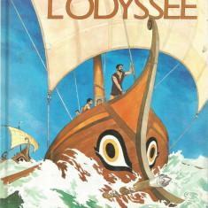 R(01) homere-L odyssee carte in limba franceza - Carte poezie copii