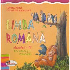 Limba romana clasele I - IV - Exercitii, jocuri - Autor(i): - Culegere Romana