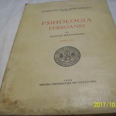 Psihologia persoanei- nicolae margineanu- editia a-II-a, an 1944