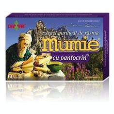 Extract Purificat de Rasina Mumie cu Pantocrin Damar 60tb Cod: damg0037