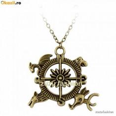 Pandantiv Game of Thrones Compass Calitate Garantata - Pandantiv inox