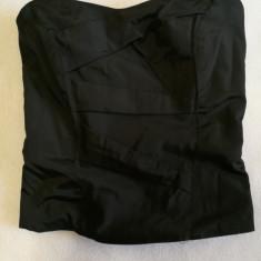 Corset negru, Marime: Alta, Fara bretele