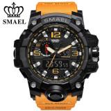 Ceas SMAEL Digital Cronometru, ecran iluminat, Shockproof WR 3 ATM, Fashion, Quartz, Inox, Tommy Hilfiger