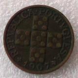 P2. Portugalia 20 centavos 1967 **, Europa