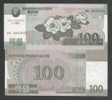 COREEA DE NORD   100  WON 2002 2013  UNC  P-CS 12 cu overprint ptr colectionari
