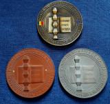 Medalie Universitatea Spiru Haret - Fundatia Romania de maine - proba rara
