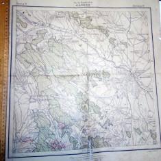 HARTA VECHE BASARABIA - 1915