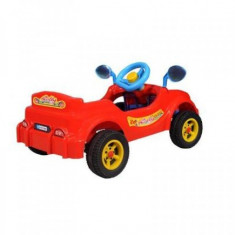 Masina cu pedale- Visul copiilor, rosie