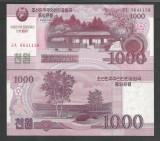 COREEA DE NORD   1000 1.000  WON 2008 2013  UNC  P-CS 15  pentru  colectionari